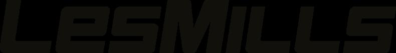 Les Mills main logo Black